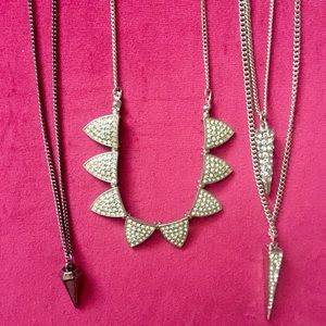 Lot of 3 necklaces 🌟 jewelry